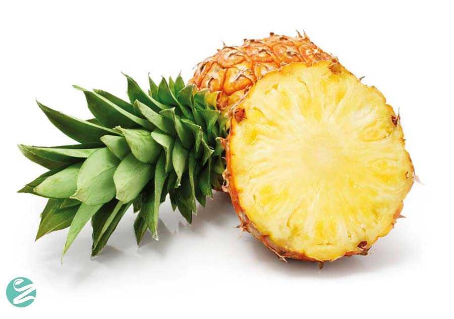 آناناس و کمک به دستگاه گوارش