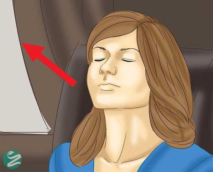 10 روش برای جلوگیری از بروز حالت تهوع هنگام در داخل ماشین