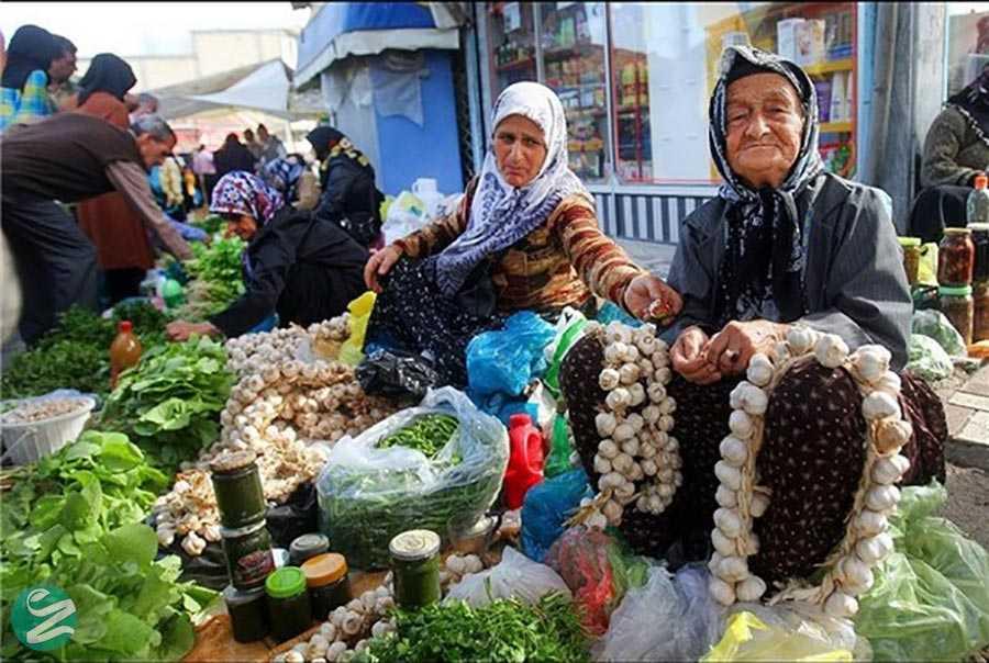 بازارهای هفتگی و محلی شهرهای مختلف استان گیلان