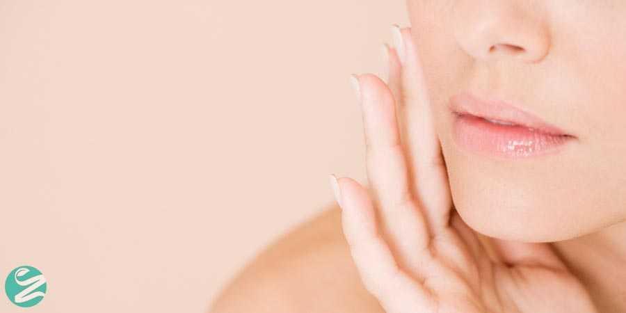 تشخیص نوع پوست صورت به روش ساده