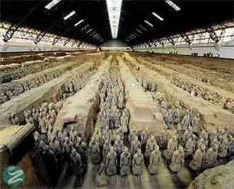 عکسهایی از موزه ارتش سفالین تراکوتا Terracotta Army
