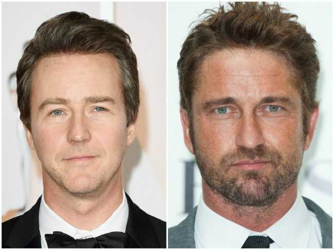 Edward Norton and Gerard Butler