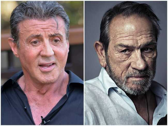 Sylvester Stallone and Tommy Lee Jones