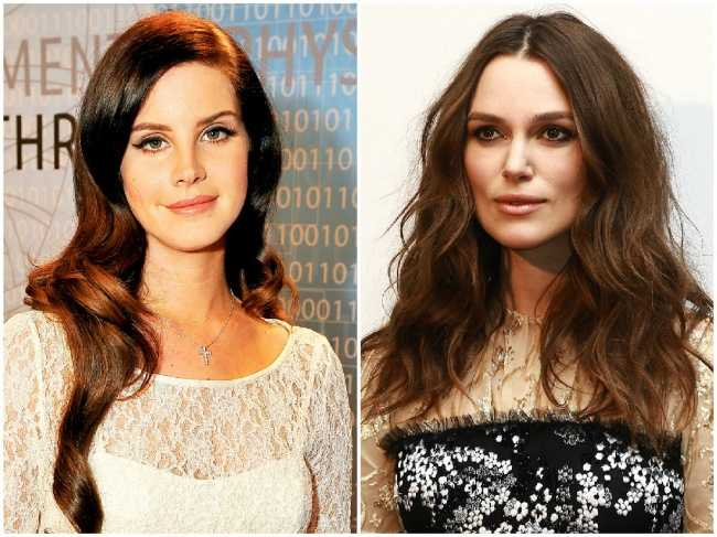 Lana Del Rey and Keira Knightley