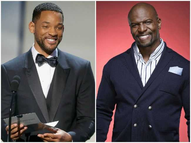 Will Smith and Terry Crews