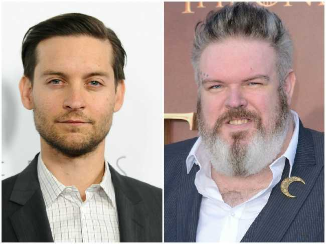 Tobey Maguire and Kristian Nairn