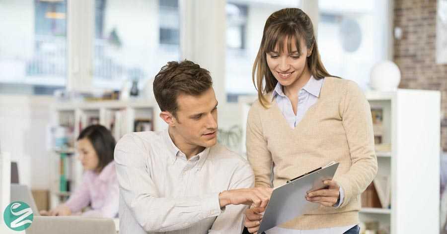 مردان و زنان در محل کار