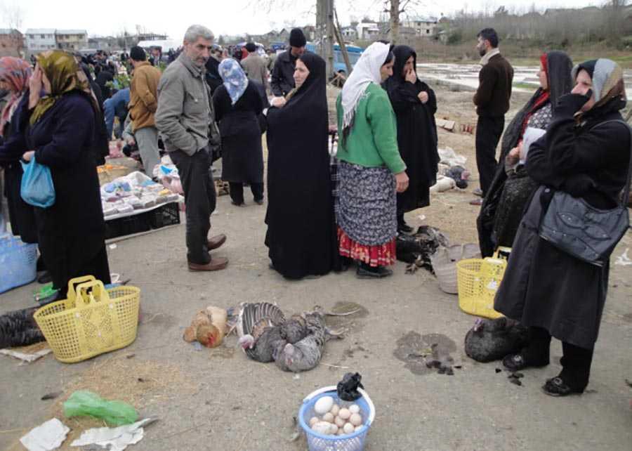 بازار هفتگی آستانه