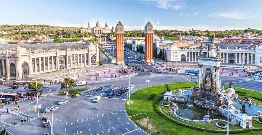 شهر بارسلونا، اسپانیا