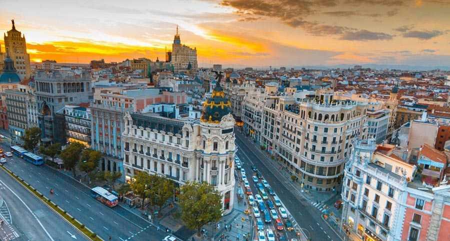 شهر مادرید، اسپانیا