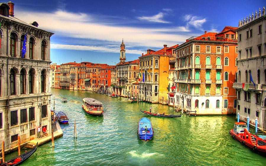 شهر ونیز، ایتالیا