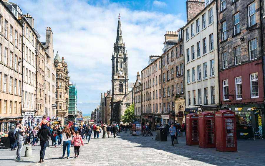 شهر ادینبورگ، اسکاتلند