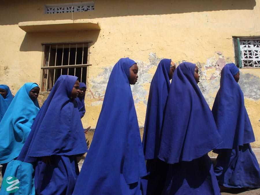 لباس فرم مدارس سومالی