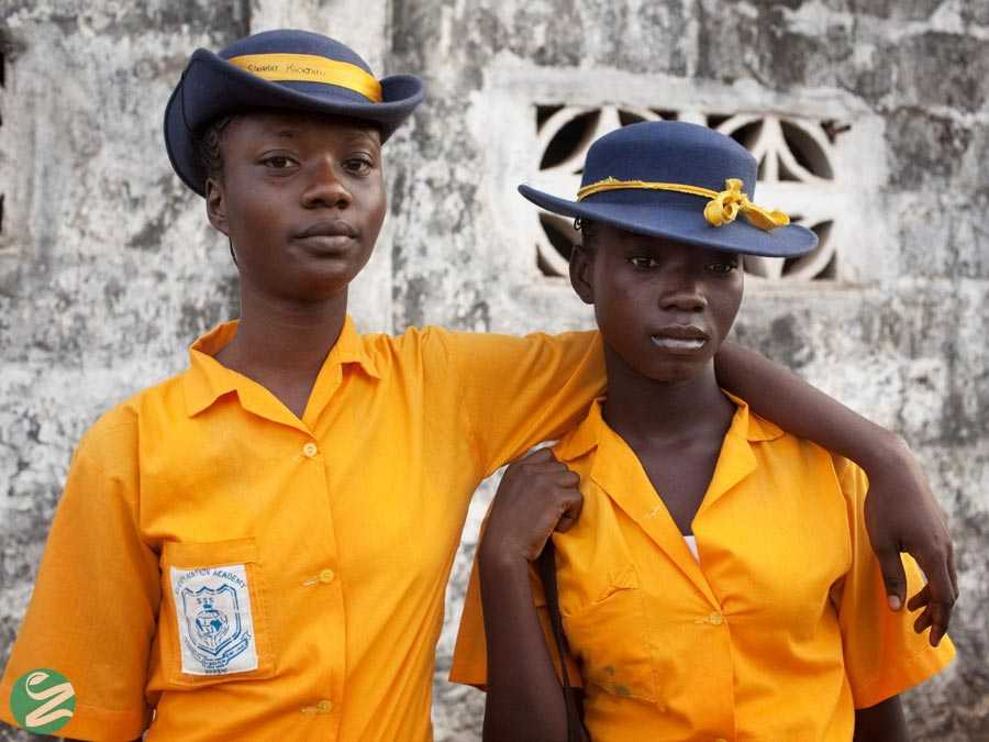 لباس فرم مدارس سیرالئون