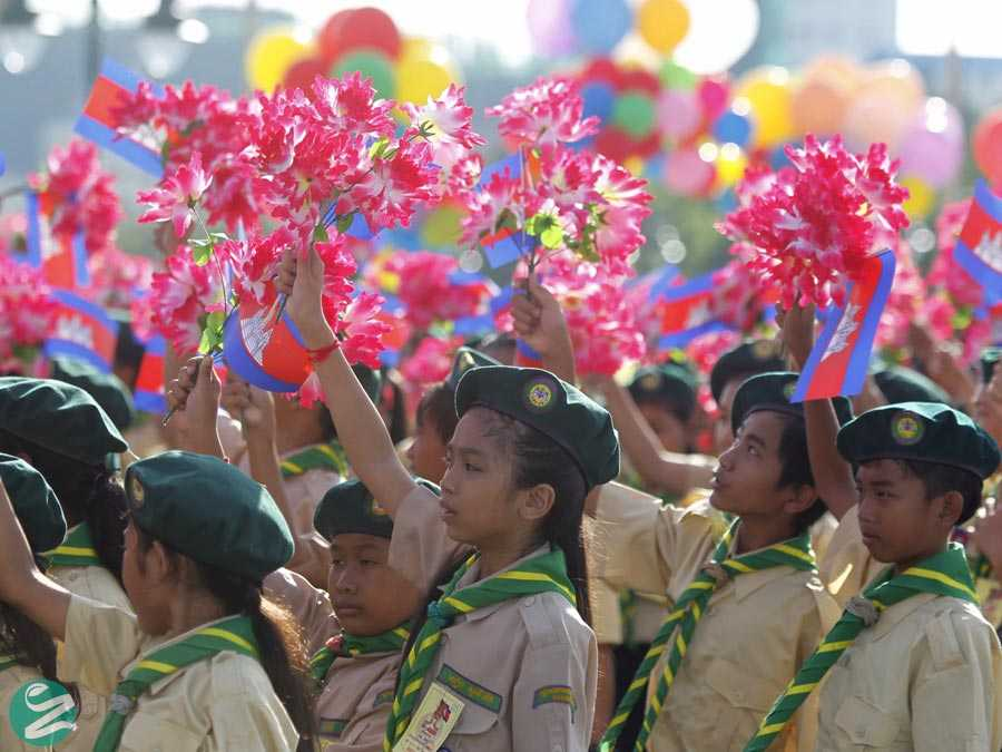 لباس فرم مدارس کامبوج