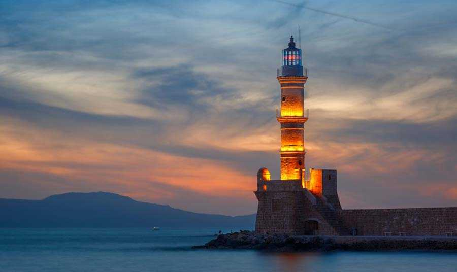 Chania Lighthouse, Greece