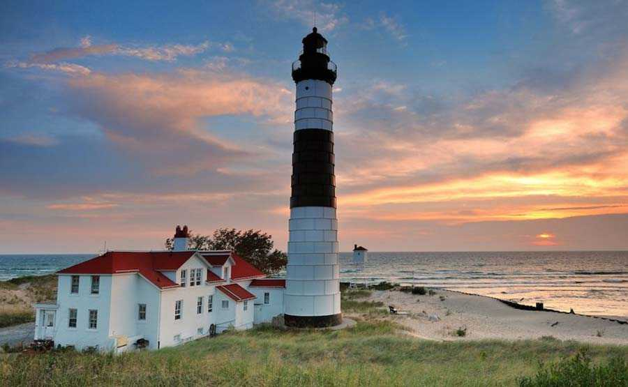 Big Sable Point Light, Michigan, USA