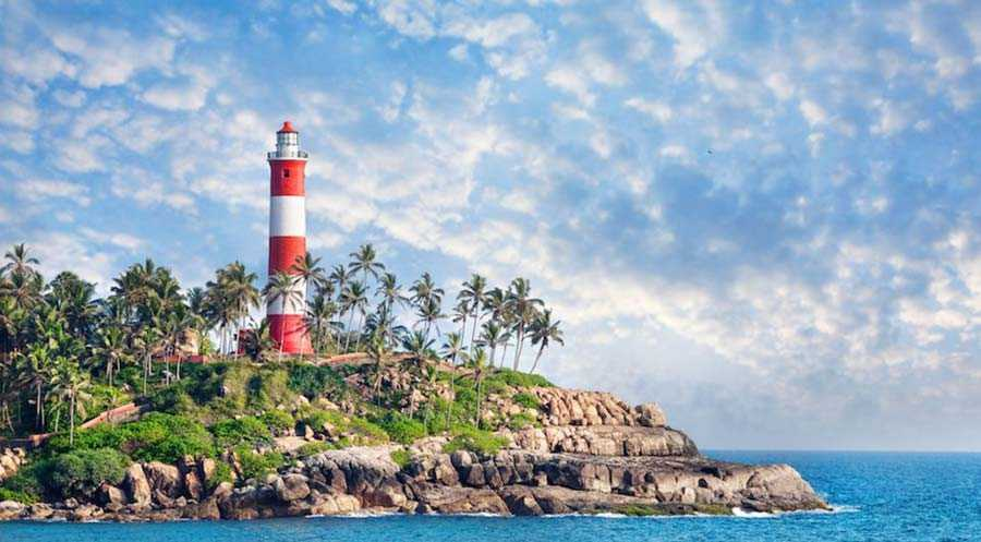Kovalam Beach Lighthouse, India