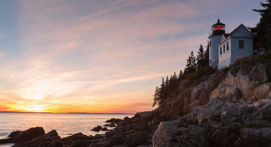 Bass Harbor Head Light, Maine, USA