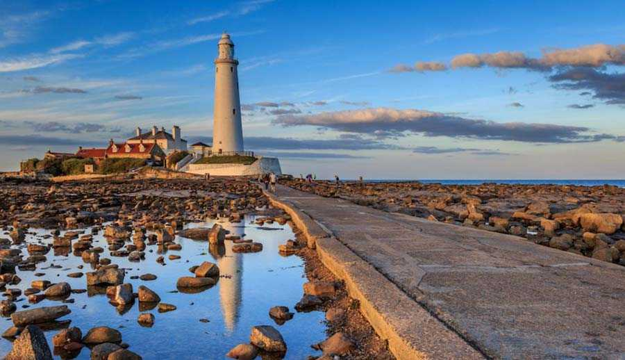 St. Mary's Lighthouse, UK