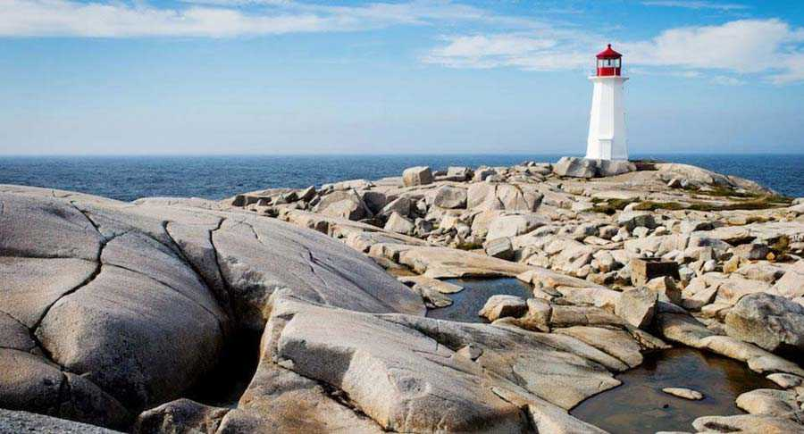 Peggy's Cove Lighthouse, Canada