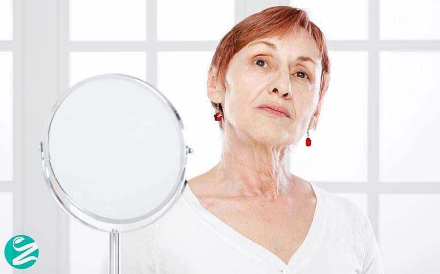 12 درمان افتادگی پوست صورت بدون جراحی