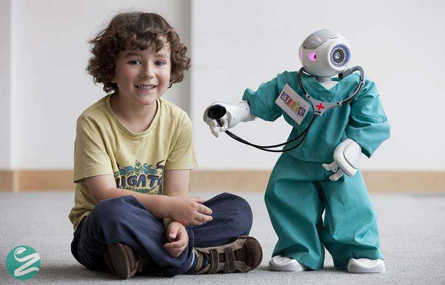 روباتی برای کنترل بیماری دیابت کودکان