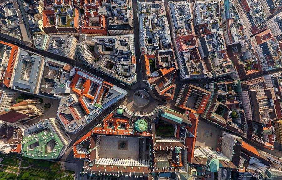 Above the Michaelerplatz
