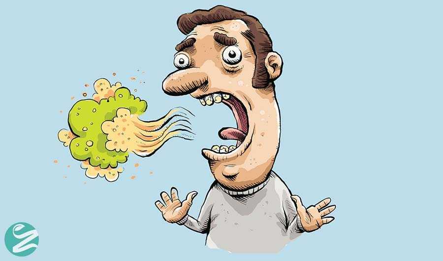 علت بوی بد دهان چیست و چه نشانهای دارد؟