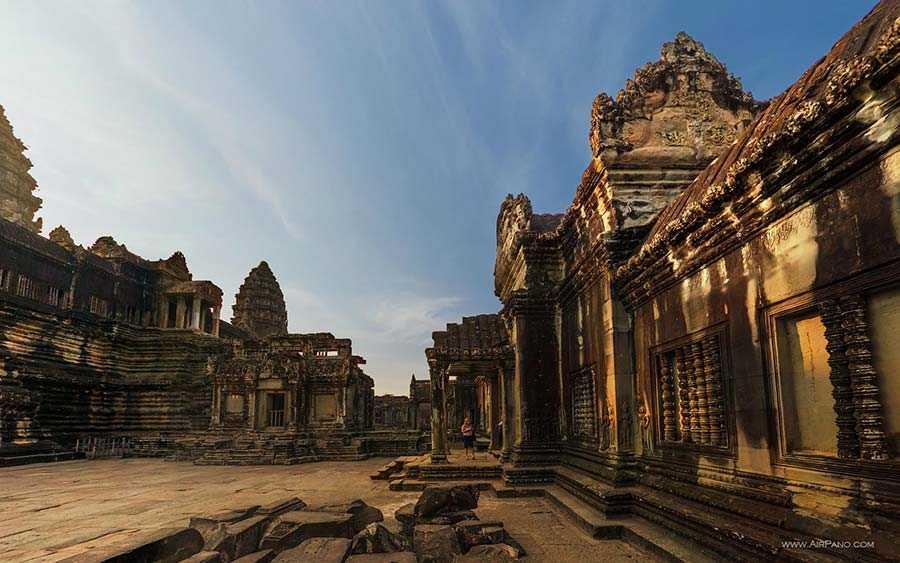 عکس معبد در کامبوج