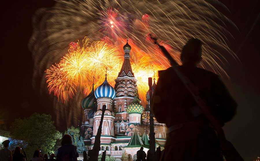 جشن های مسکو