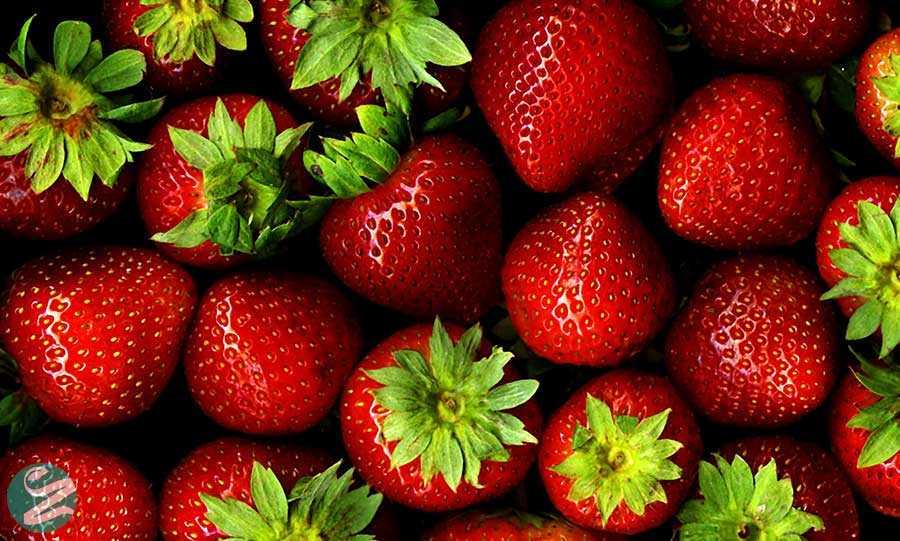 جلوگیری از پیری زودرس با مصرف توت فرنگی