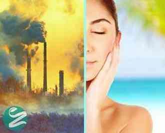 مراقبت از پوست در برابر آلودگی هوا