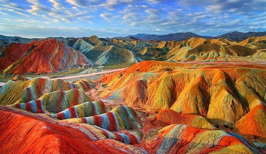 پارک ملی زمین شناسی ژانگی دانکسیا