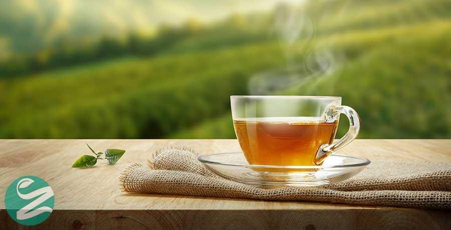 رفع کافئین چای سبز