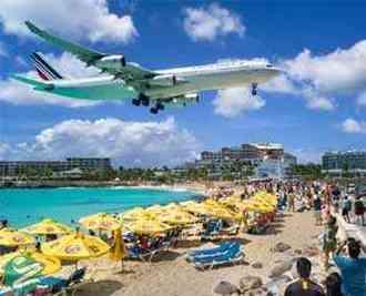 زیباترین فرودگاه های جهان برای فرود هواپیما
