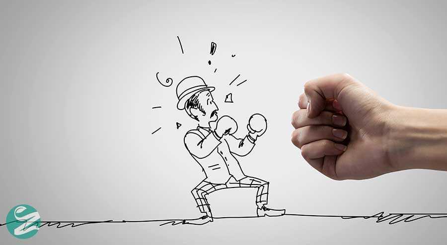 خلاقیت در کاریکاتور و استفاده از دست