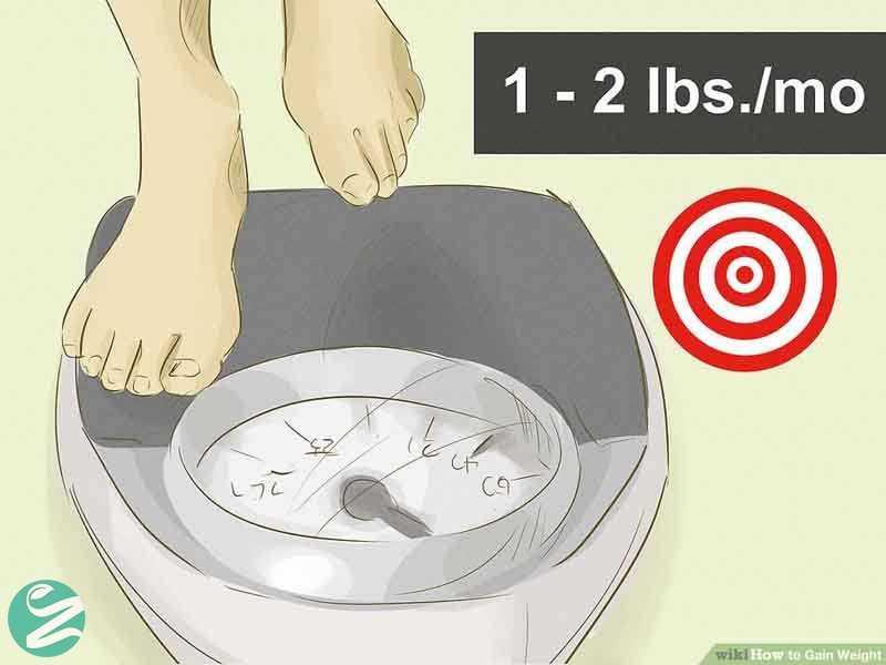 وزن خود را به تدریج افزایش دهید