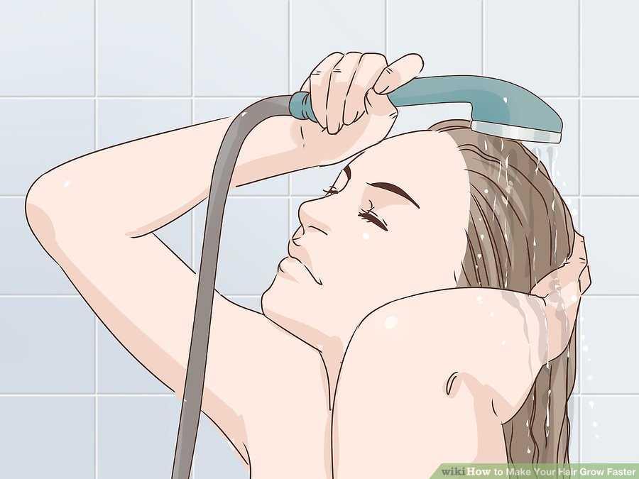موهای خود را با آب سرد، آب بکشید