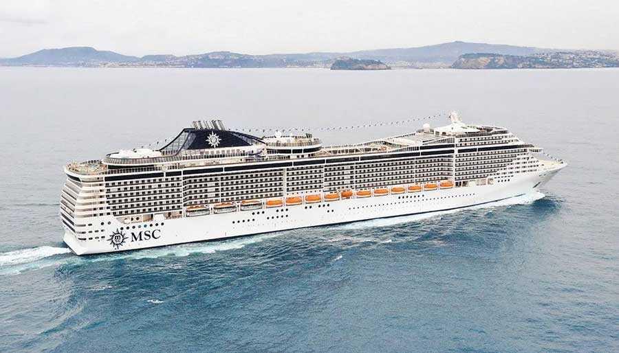 کشتی کروز MSC Splendida Cruise