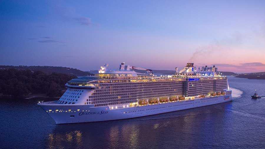 کشتی کروز Ovation of the Seas