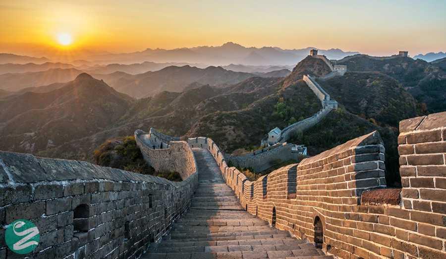 36 عکس هوایی شگفت انگیز از دیوار چین