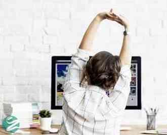 8 تمرین ورزشی ساده در خانه یا محل کار
