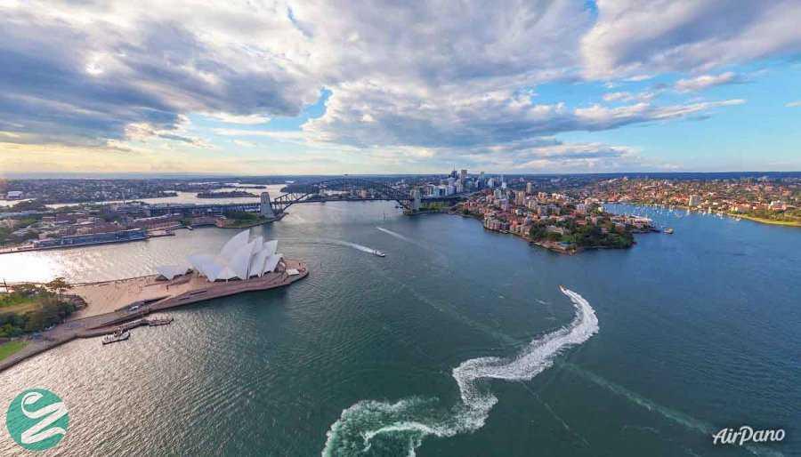 عکس هوایی سیدنی، استرالیا