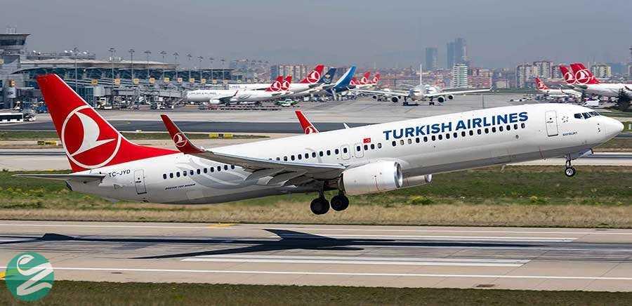 سفر هوایی به ترکیه