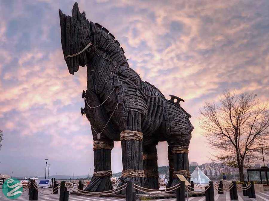 اسب تروآ در شهر تروا