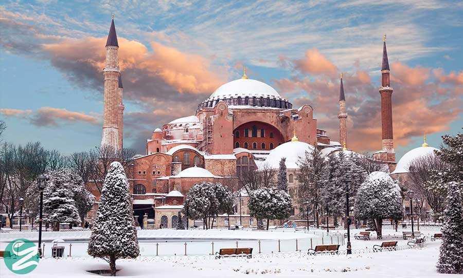 آب و هوای استانبول