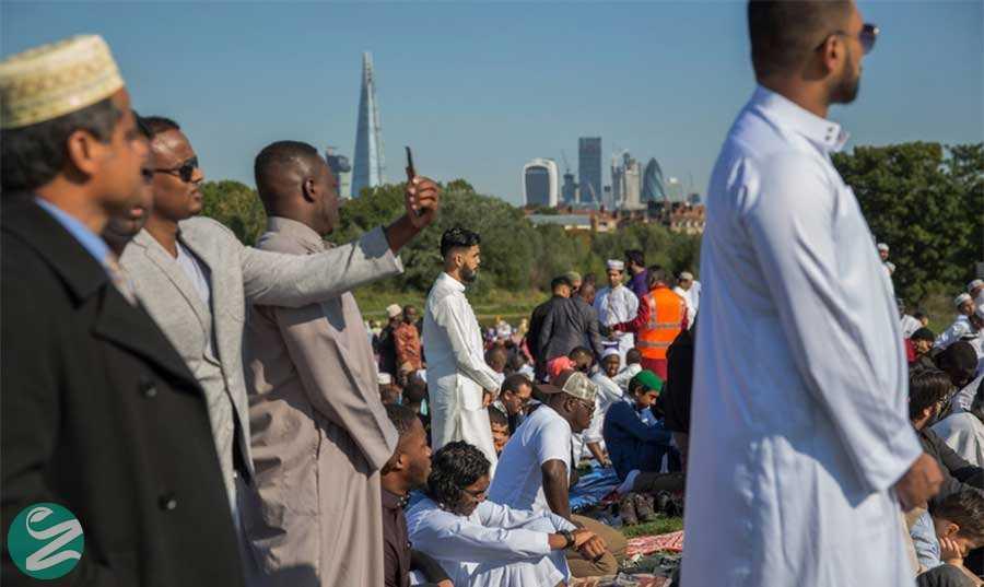 عید قربان در لندن