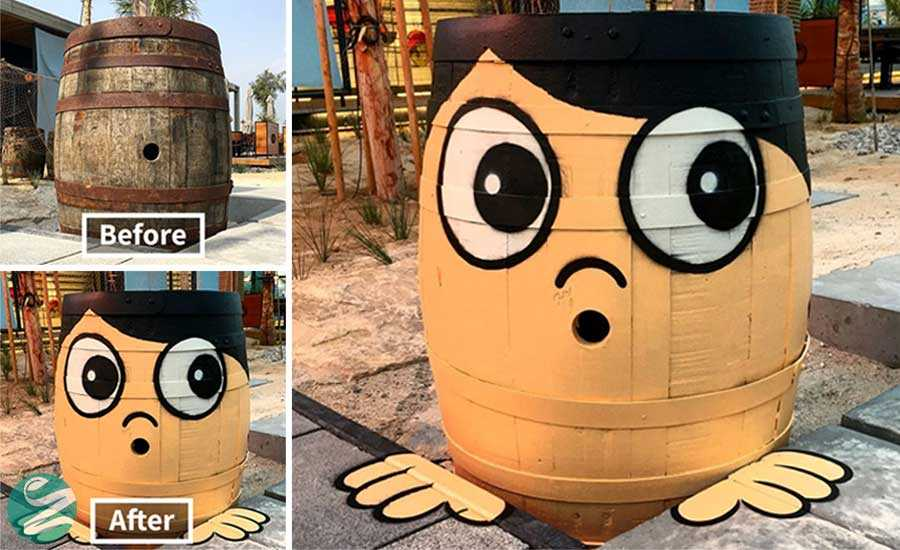 عکس هایی از خلاقیت یک هنرمند در نقاشی خیابانی (35 عکس)