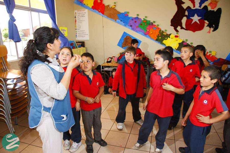 لباس فرم مدرسه در شیلی